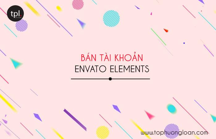 Bán tài khoản Envato Elements giá rẻ