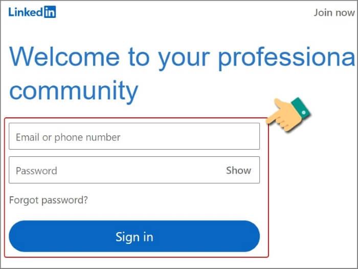 Cách tạo tài khoản Linkedin Profile