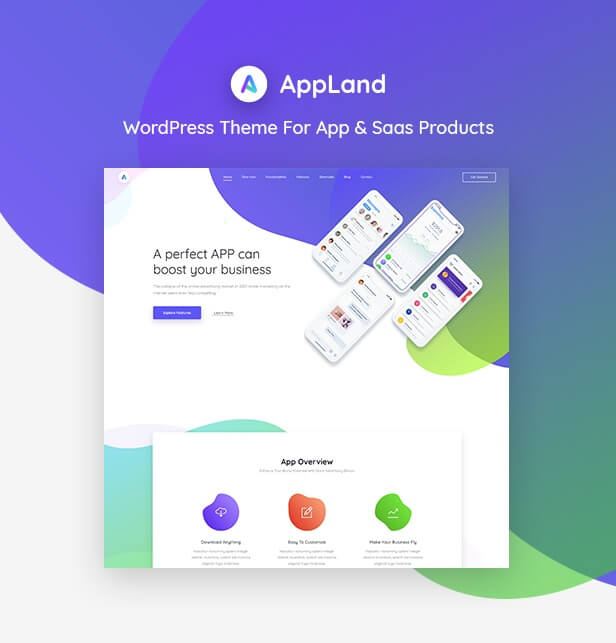 dowload-appland-theme-wordpress