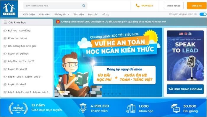 Website của Hocmai.vn