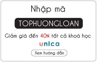 Mã giảm giá trên Unica