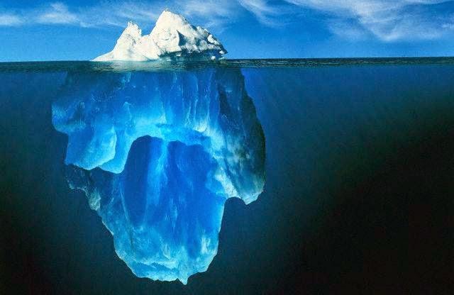 Nguyên lý tảng băng trôi với phân tâm học
