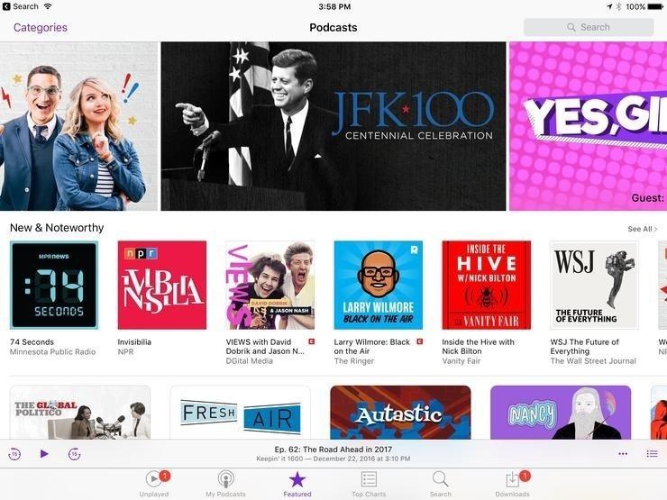 Đăng ký Podcast trên iOS hoặc iTune