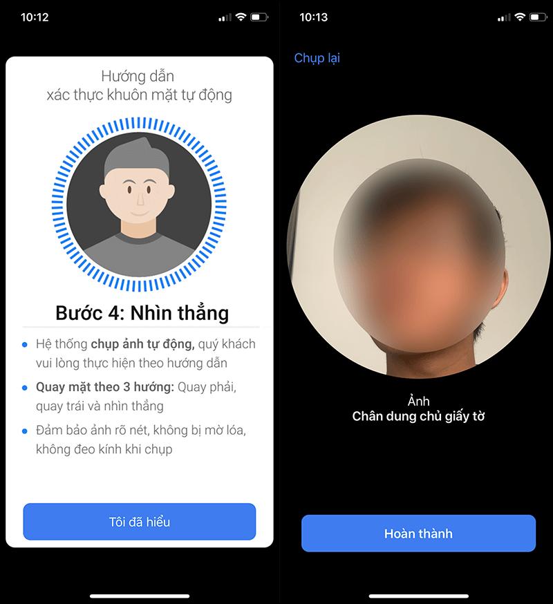 Xác thực, nhận dạng khuôn mặt