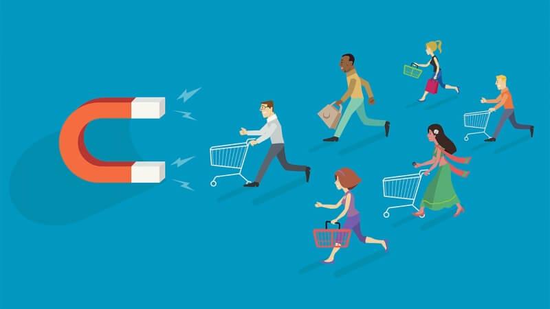 Content tạo sự thu hút với khách hàng