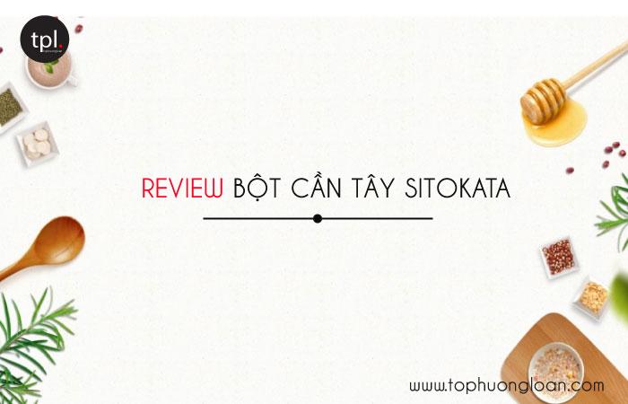 Review Bột cần tây Sitokata có tốt không? Mua ở đâu?