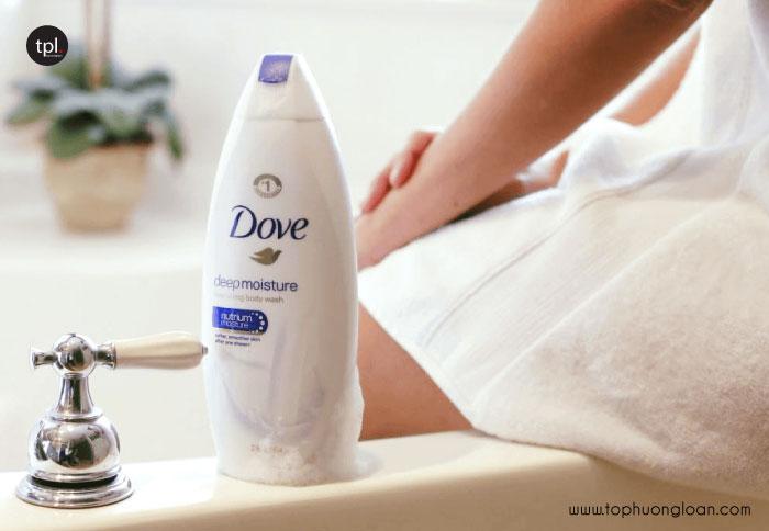 Dove Body Wash Nutrium Moisture Pump dưỡng ẩm, nâng tone da